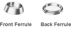 BACK FERRUL AND FRONT FERRULE